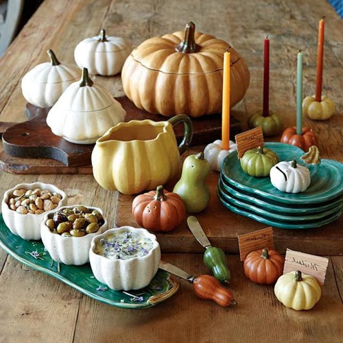 Modern Furniture 2013 Thanksgiving Tabletop Inspiration