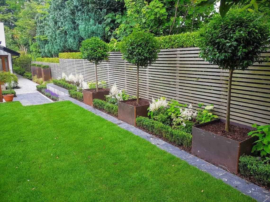 Modern Garden Idea Backyard Landscaping Designs Small