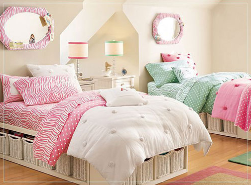 Modern Ideas For Twin Girls Bedroom In Many Colors Freshnist