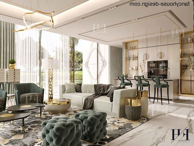 Modern Interior Design For A Luxury House In Dubai