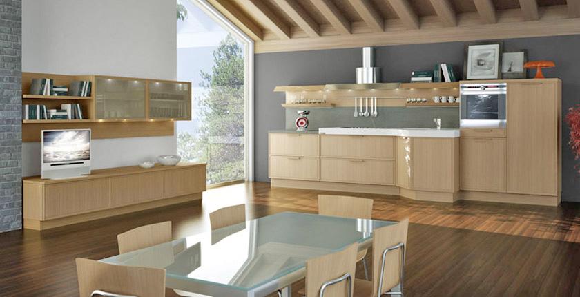 Modern Kitchens In Wooden Finish Allarchitecturedesigns