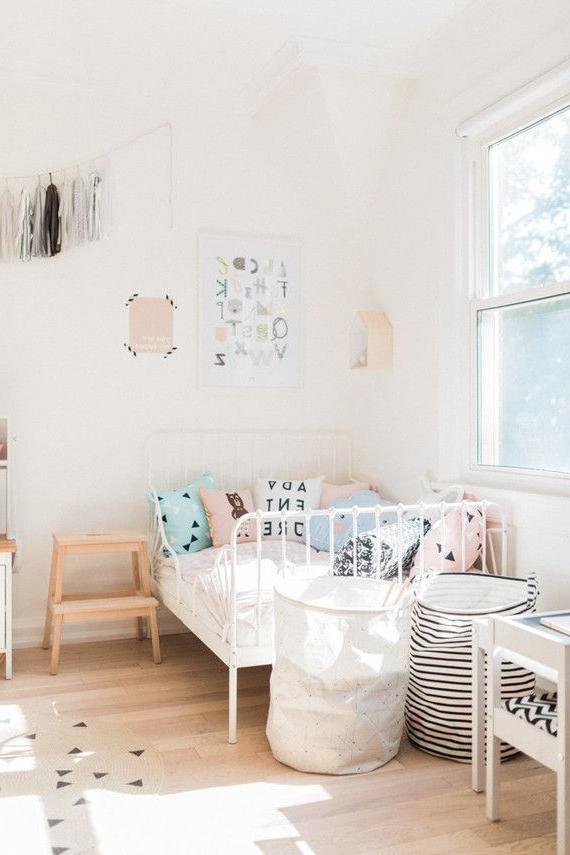Modern Pastel Girls Room Pastel Girls Room Toddler