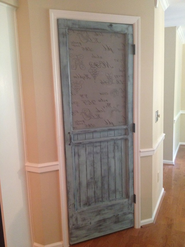 Modern Take An An Old Screen Door Pantry With Images