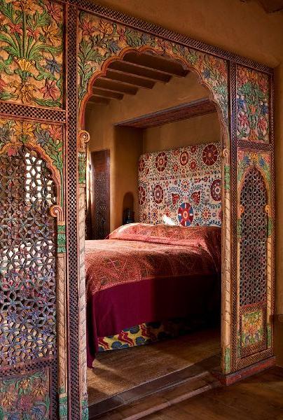 Moroccan Bedroom Bohemian Bedroom Design Oriental