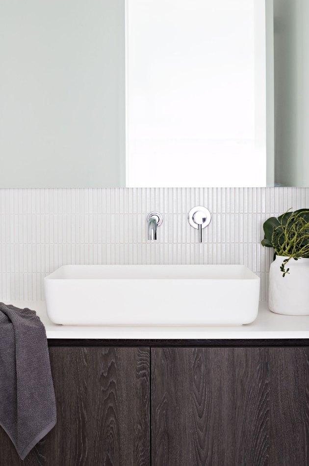 Mosaic Tile Bathroom Backsplash Ideas Inspiration And