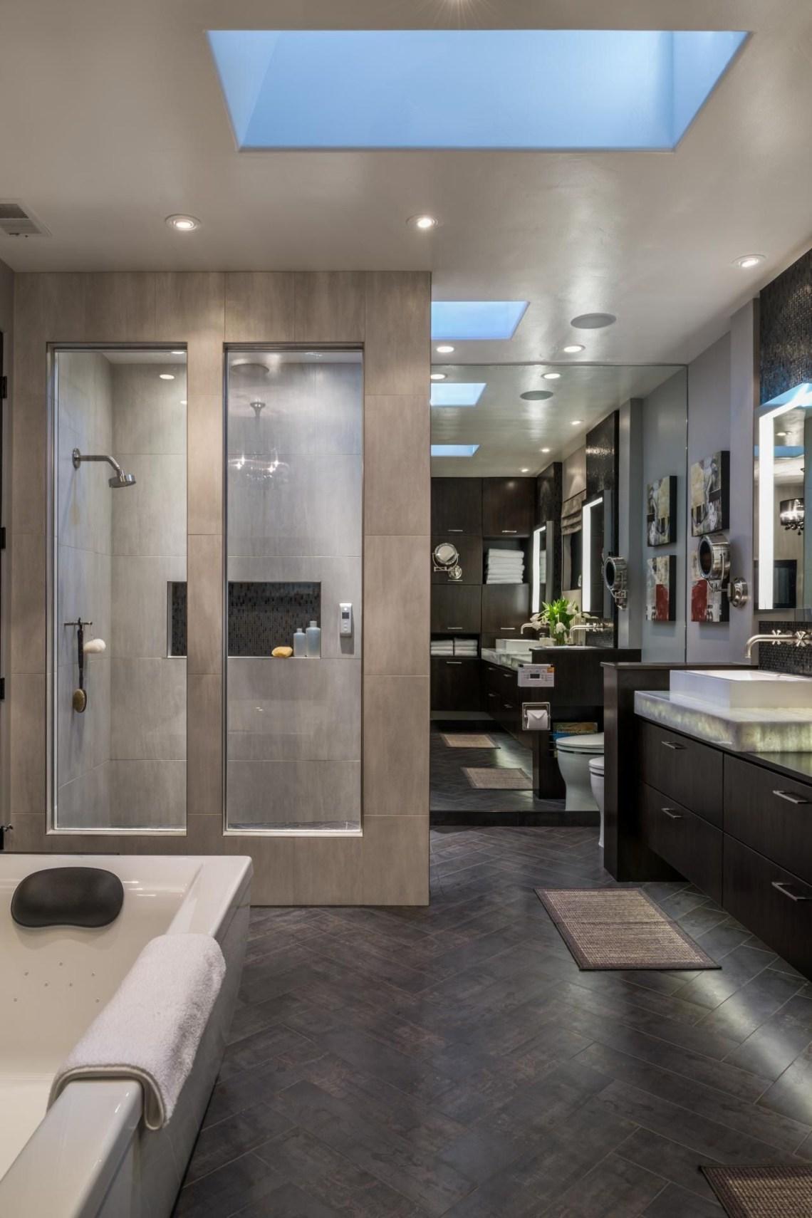Most Serene Retreat Modern Master Bathroom Contemporary