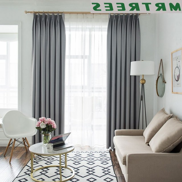 Mrtrees Modern Blackout Curtains For Living Room Bedroom