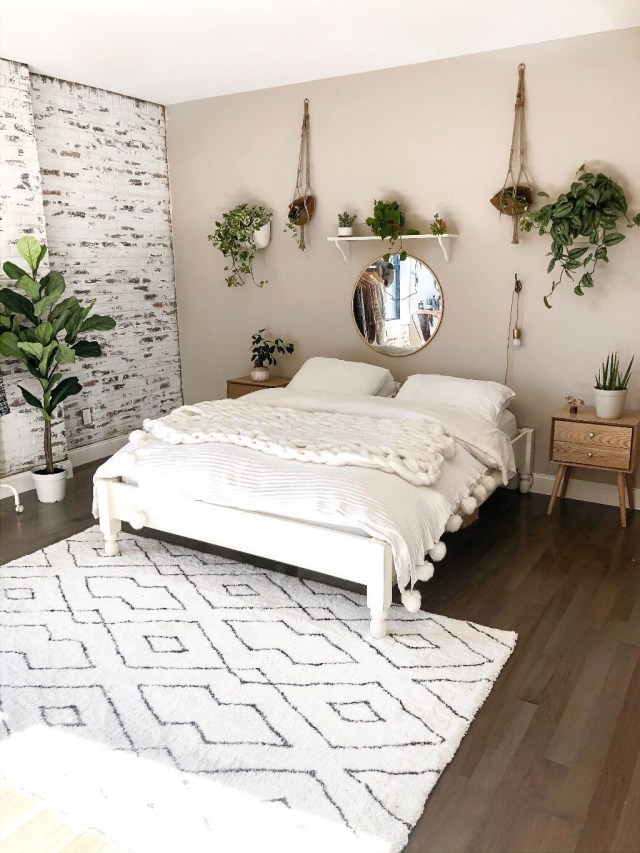 My Boho Minimalist Bedroom Reveal Bedroom Decor