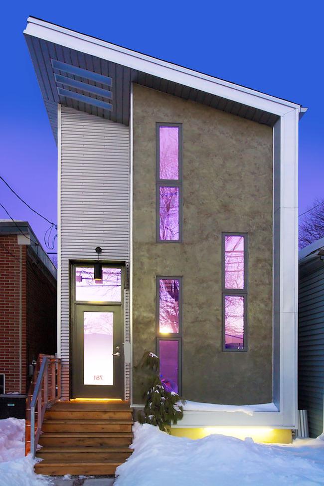 Narrow Modern Infill Tiny House Idesignarch Interior Design Architecture Interior