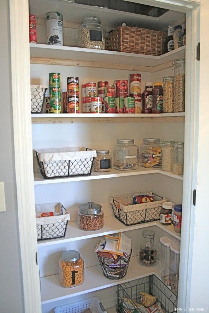 Pantry Organization Using Pantry Organizers Diy Pantry