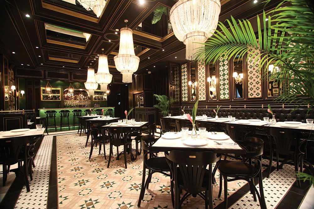 Peranakan Tiles Accent The National Kitchens Main Dining