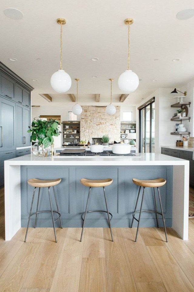 Promontory Project Great Room Kitchen Interior Design