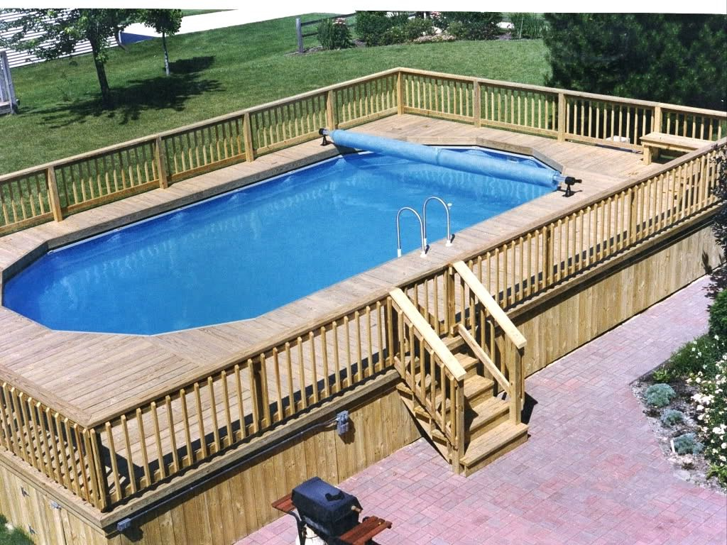 Pros Of Above Ground Pool Deck Plans Best Above Ground