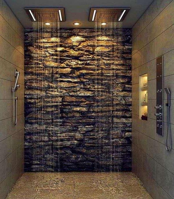 Rain Shower Head In Modern Bathrooms For Ultimate Bathing
