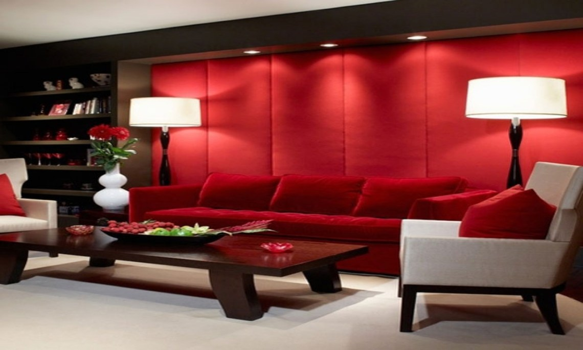 Red And Black Bathroom Decor Red Living Room Color Ideas