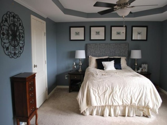 Relaxing Bedroom Colors Blue Theme Relaxing Master