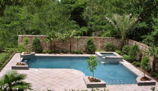 Remarkable Built In Swimming Pool Designs Elyqinfo Simple