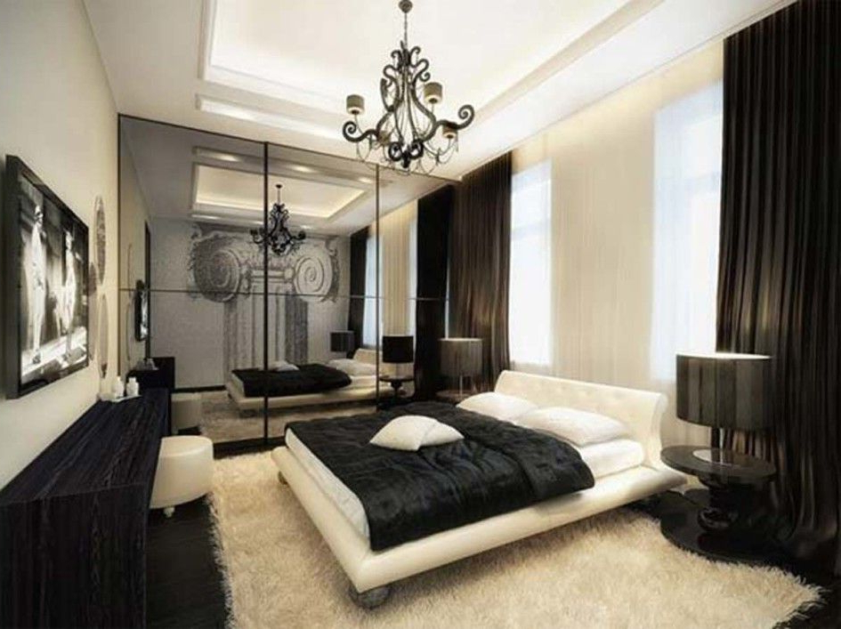 Room Design Ideas For Men Elegant Black Bedroom Design