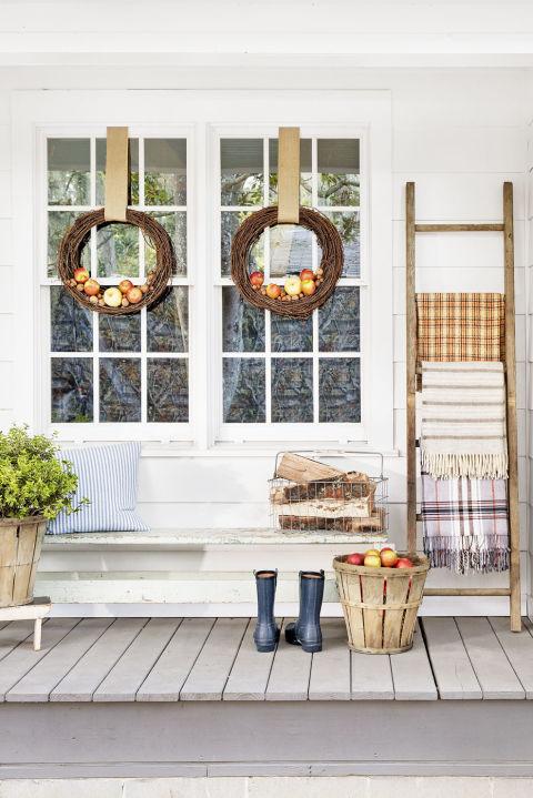 Room Recipe A Welcoming Fall Porch Rambling Renovators