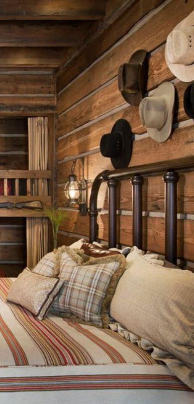 Rustic Bedrooms Design Ideas Country Brown Rustic
