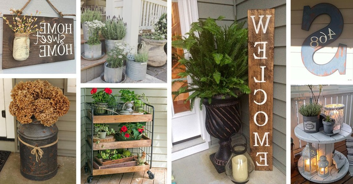 Rustic Farmhouse Porch Decor Ideas That Are Sure To