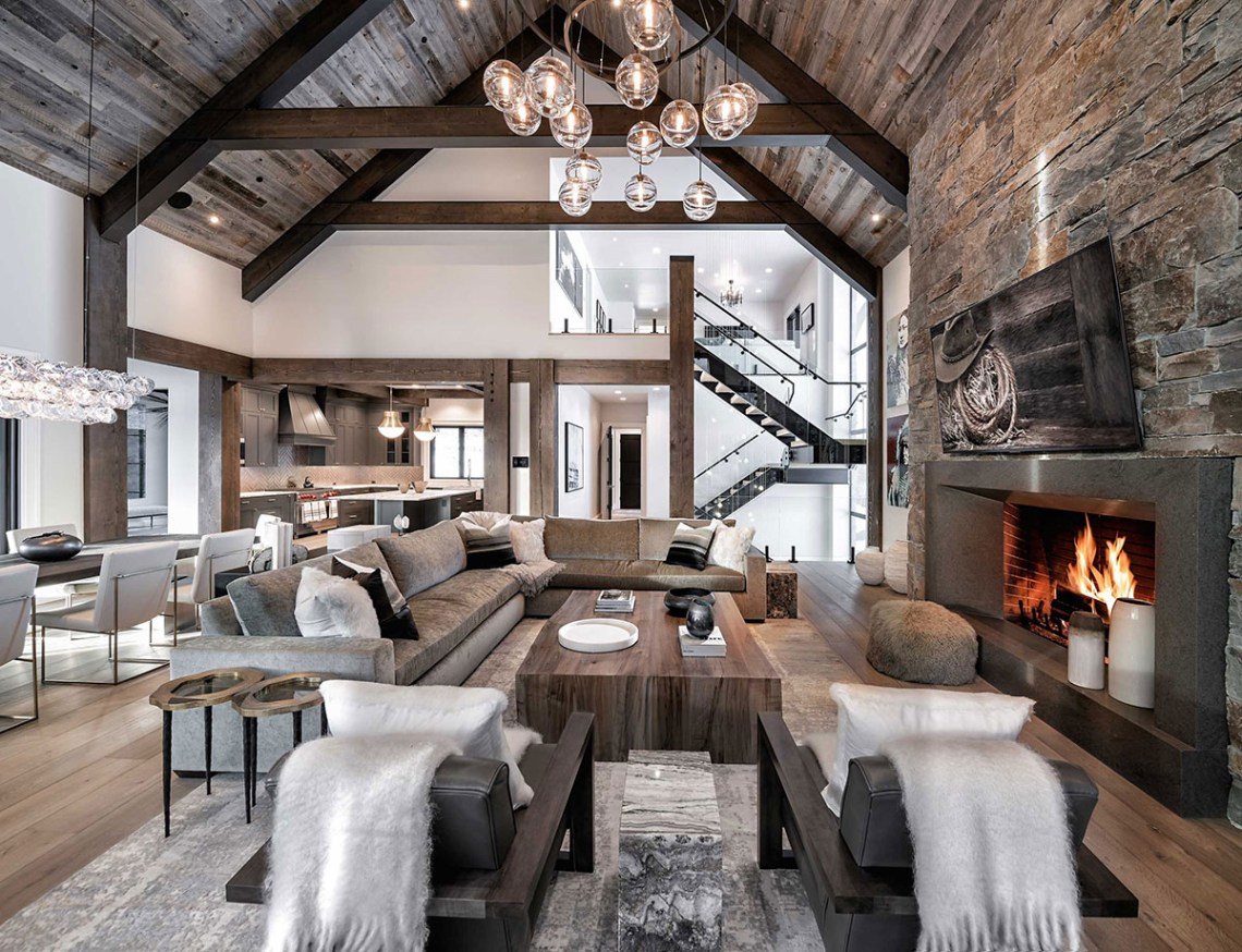 Rustic Living Rooms How To Decorate Stunning Images