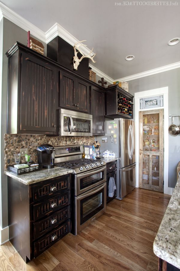 Rustic Meets Refined Rustic Kitchen Design Rustic