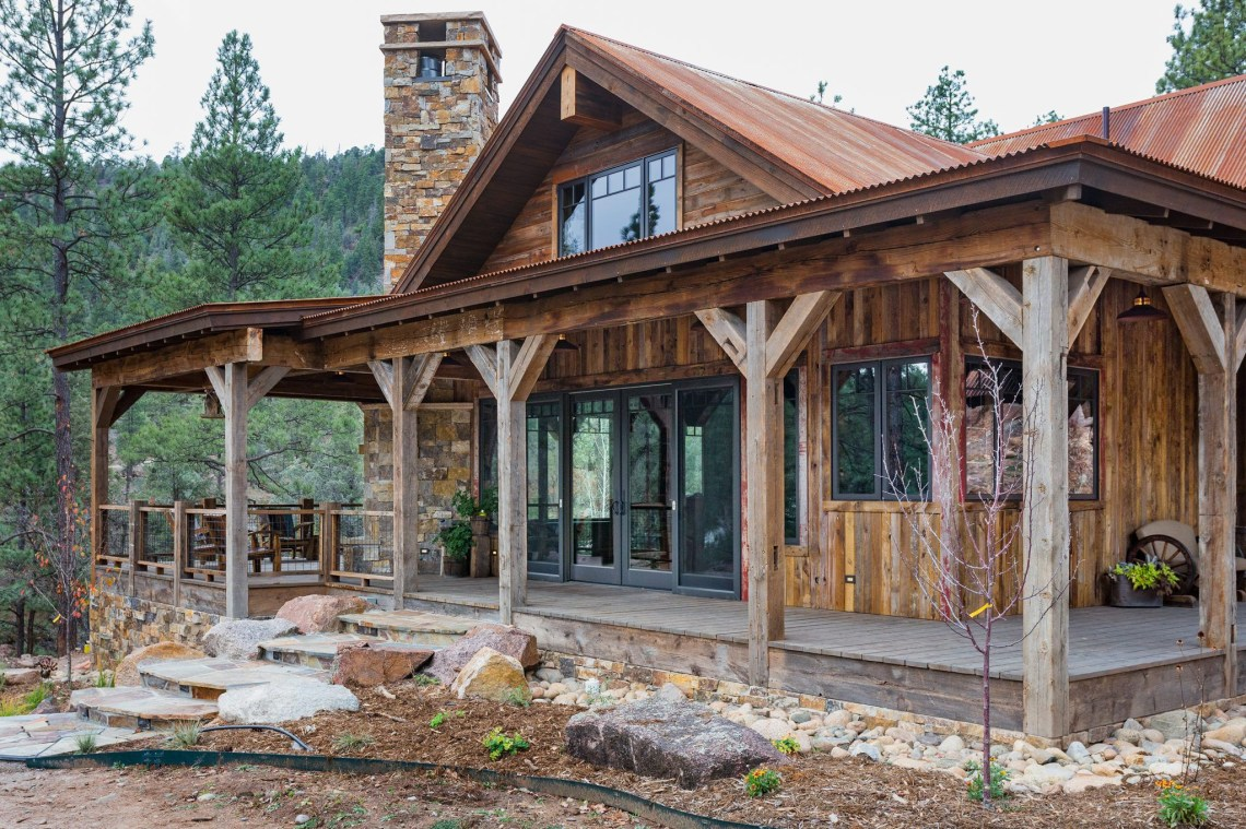 Rustic Riverside Custom Home Photo Gallery Rustic House