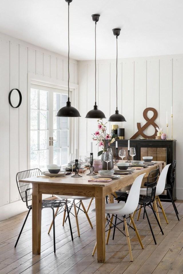 Rustic Scandi Dining Room Ideas Scandi Dining Room