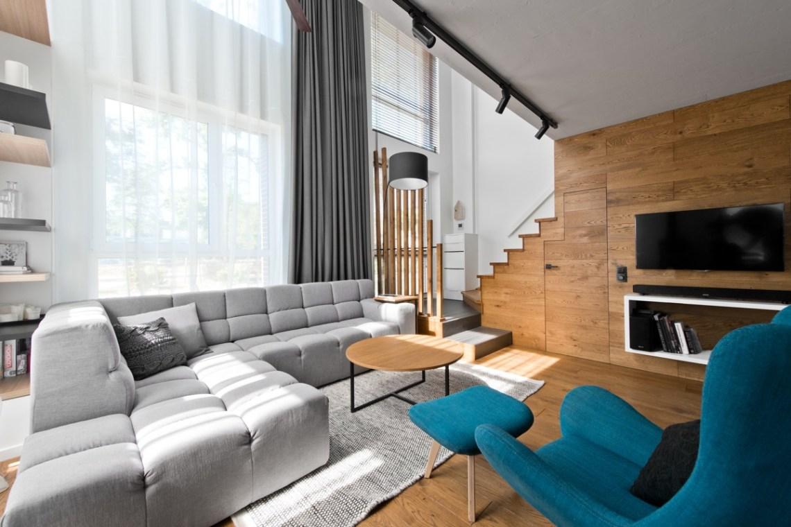 Scandinavian Loft Apartment Interior Design With Perfect