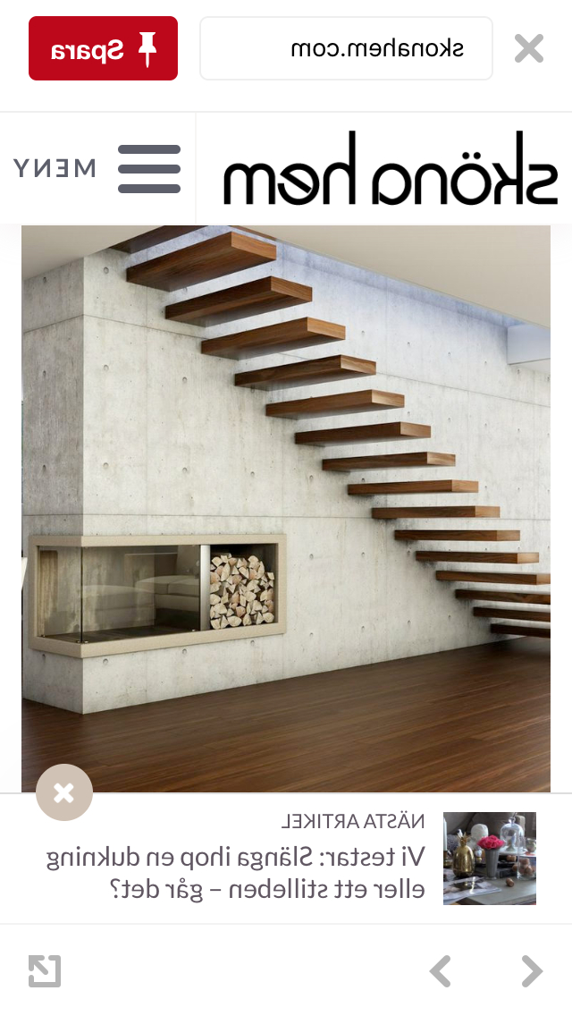 Schodit Na Trnech Floating Staircase Cantilever