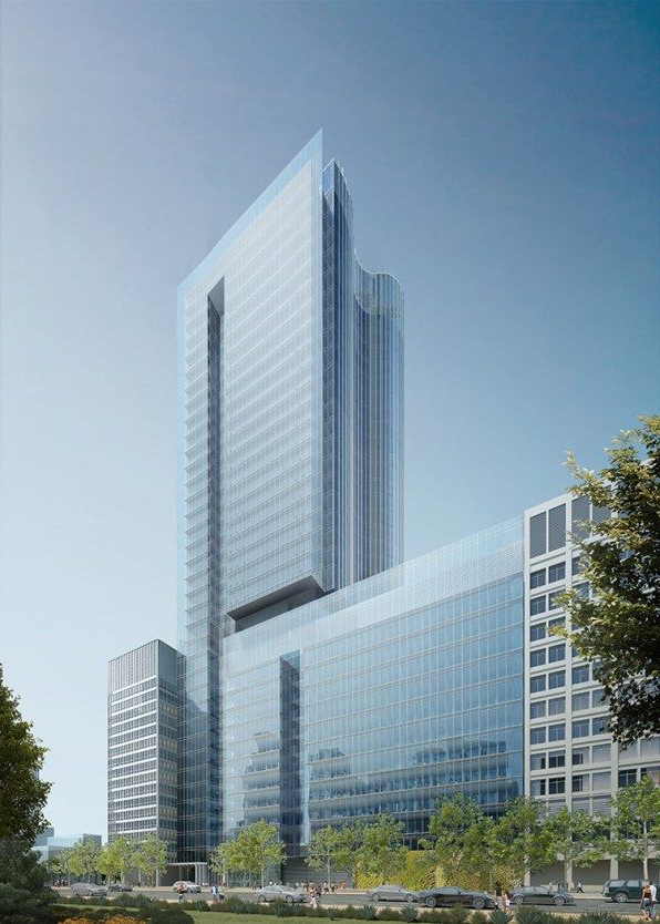 Shiny Glass Tower To Replace Bertrand Goldbergs Historic