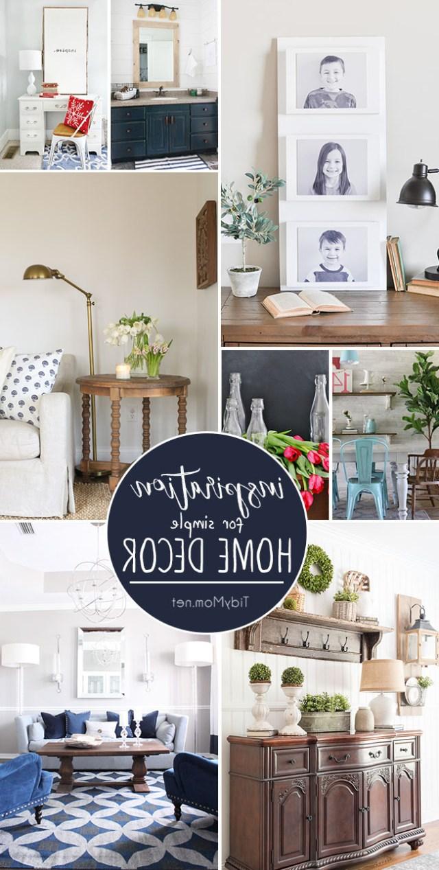 Simple Home Decor Inspiration To Love Tidymom