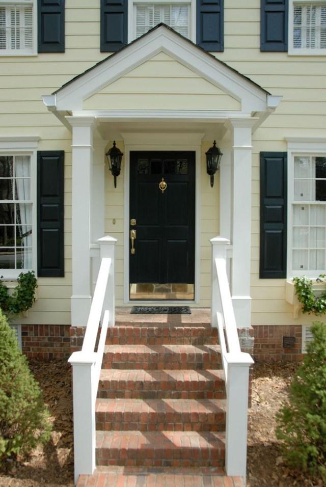 Simple Porch Idea Portico Design House With Porch