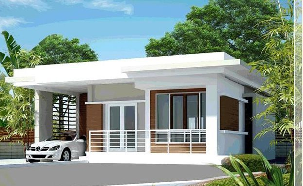 Simple Residence Modern House Philippines Modern