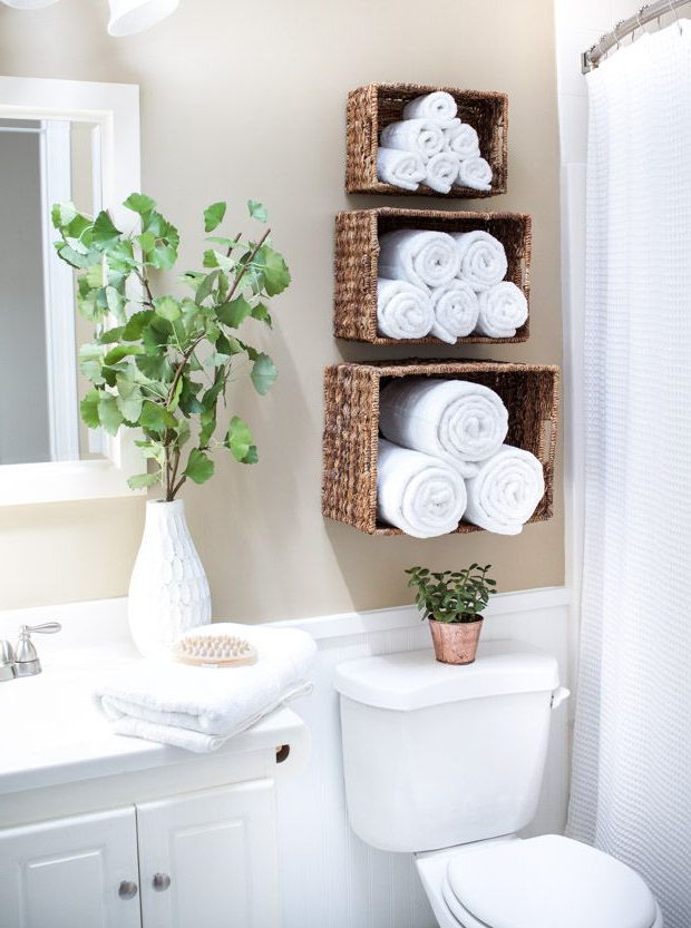 Simple Ways To Display And Store Your Bathroom Towels