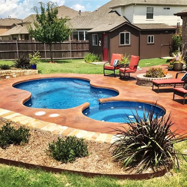 Small Inground Fiberglass Pools Top Designs For 2019