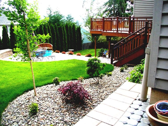 Small Rock Gardens Pictures A Small Rock Garden In The