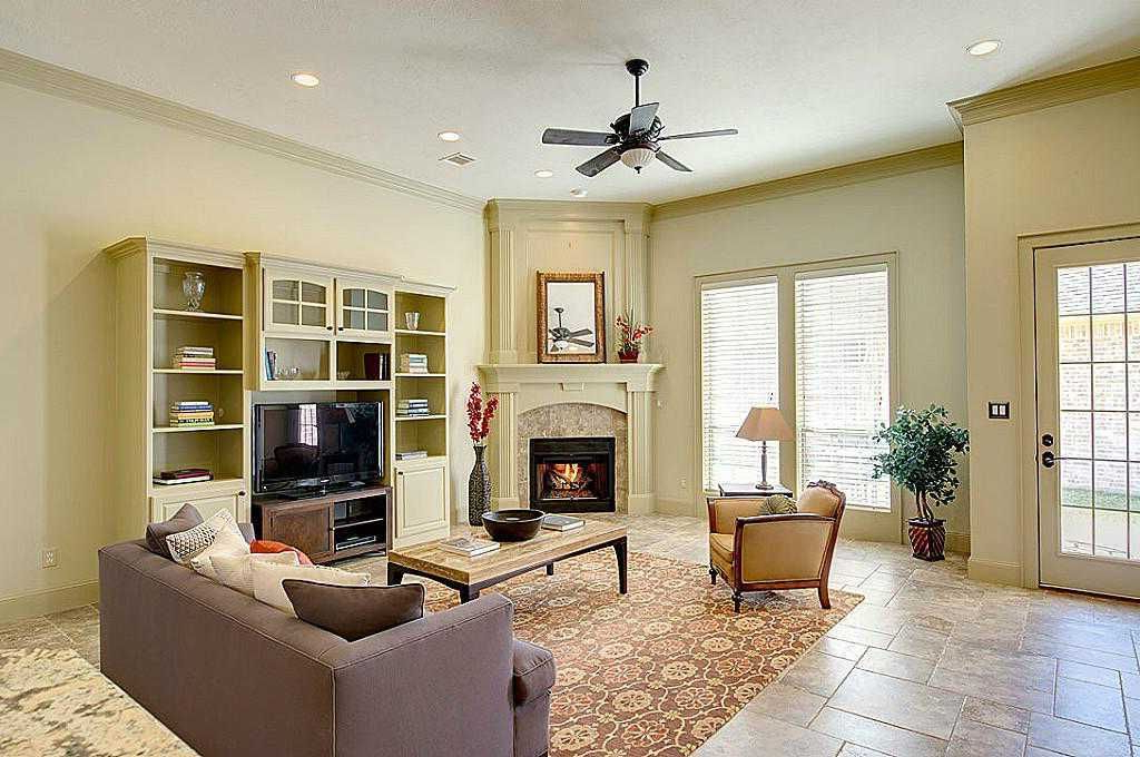 Staging A Living Room With Corner Fireplace Living Room