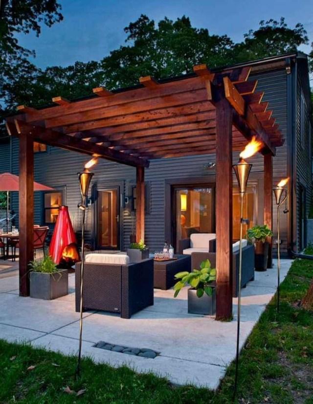 Stunning Patio Pergola Living Room Designs Pergola