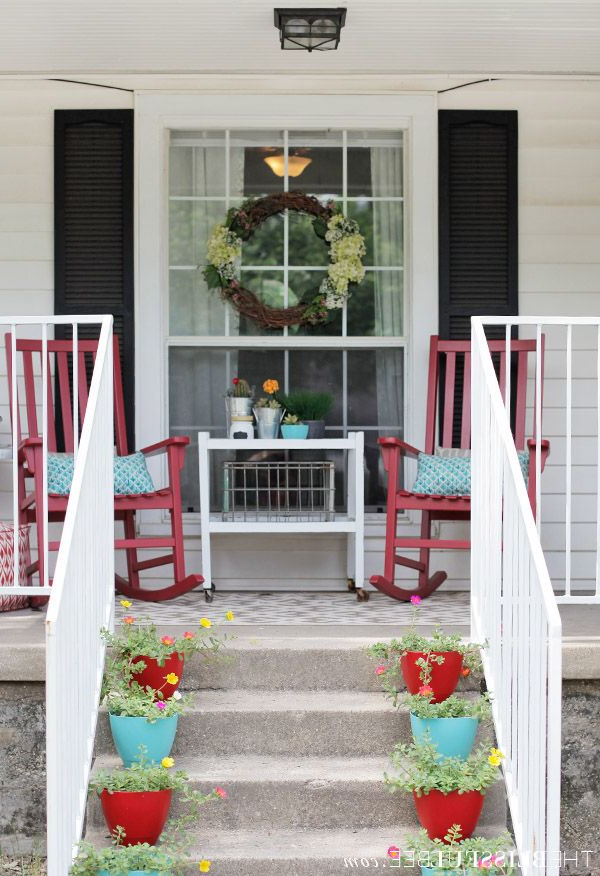 Summer Front Porch Refresh The Blissful Bee Summer