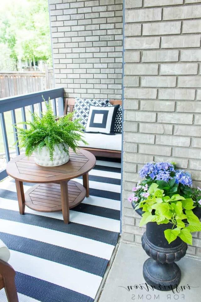 Summer Porch Decor Ideas Black And White Inspiration