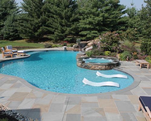 Sun Shelf Pool Houzz