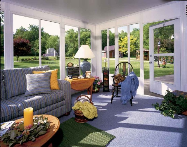 Sunroom Ideas On A Budget Green Woven Rug In Immaculate