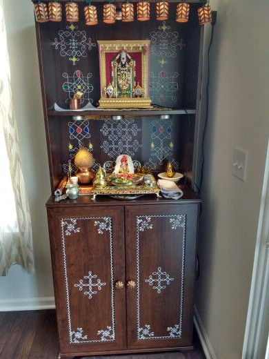 Temple I Made For My New Home Thank You Shyama For The