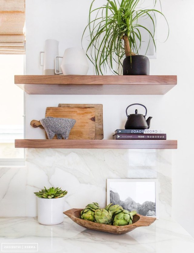The 25 Best Kitchen Shelf Decor Ideas On Pinterest