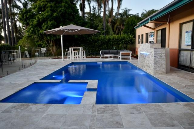The Absolute Leisure Pools Spa Pool Lighting