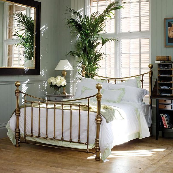 The Beauty Of Brass And Nickel Plate Beds Home Bedroom