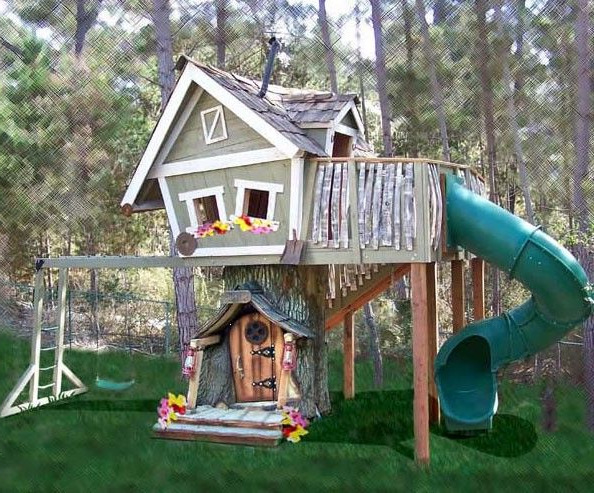 The Monkey Mansion Is The Perfect Playhouse For Your