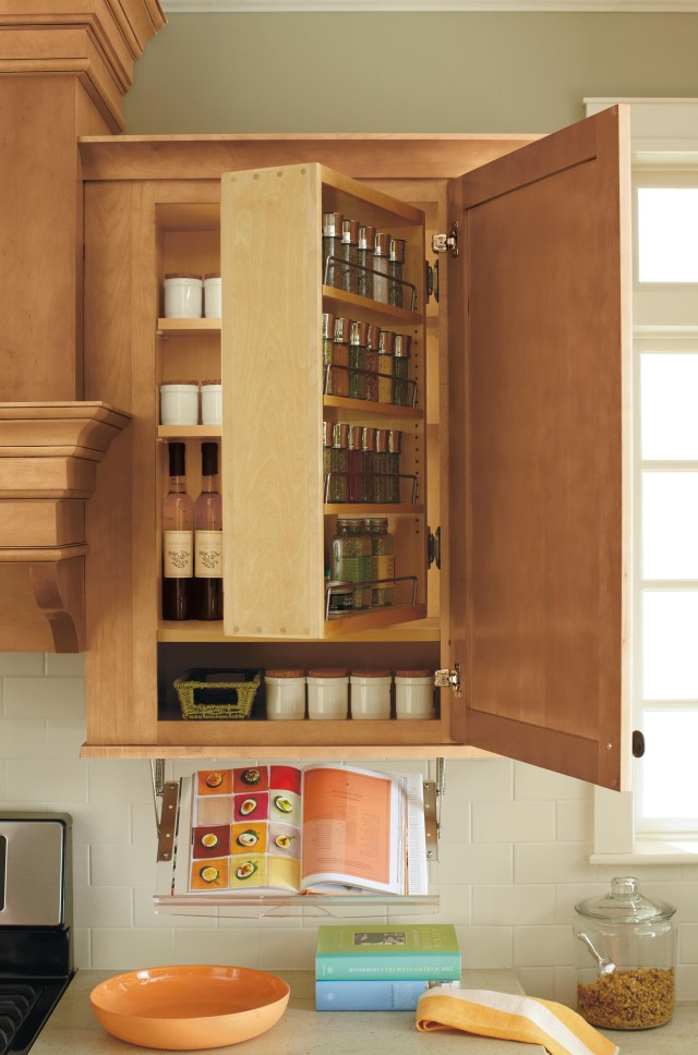 This Marthastewartliving Spice Rack Swings Out For Easy